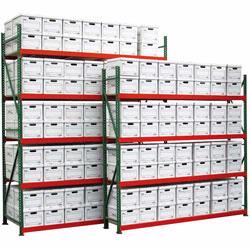 Archive record racks are great for storing old files, documents, and media. Choose  from Stromberg, Lyon and Tennsco.
