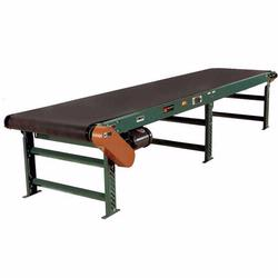 Belt conveyors are available in a variety of styles including; slider bed, open bed, trough bed, mesh belt, cleated belt and steel belt conveyors.
