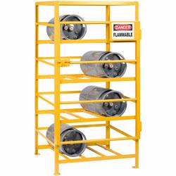 Store and protect all types of cylinders with a cylinder rack from Material Flow. Choose from Lyon, Vestil, Meco Omaha and other brands.