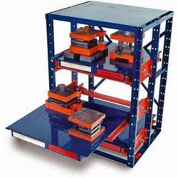 Material Flow provides high density tool and die racks Little Giant and other manufacturers.