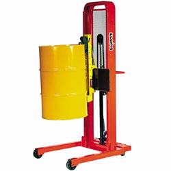 Transport and stack all of your containment drums easily with drum stackers made by Vestil and Presto Lifts.