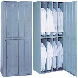 Exchange Lockers feature a compact design that allows units to be installed near service or work areas.