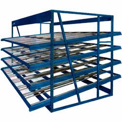 Case Flow Rack, Pallet Flow Rack and more! Material Flow are the flow rack experts!