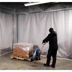 Industrial curtains for any warehouse and distribution center.