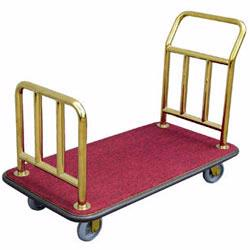 Transport luggage safely at motels, hotels, airports and resorts with these high quality luggage carts from Vestil Manufacturing and Magliner.