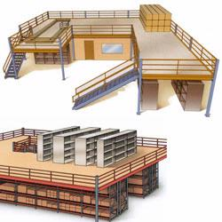 Mezzanines for every application! Clear-Span Mezzanines, Structural Mezzanines, Catwalk Mezzanines and much more! Material Flow can design and install mezzanine systems. Call Material Flow for more information on our mezzanine products and services.