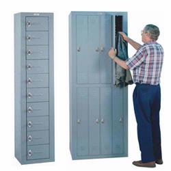Personal Effects Lockers are perfect for limited spaces where employees need a secure place to store their belongings.
