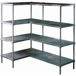 Material Flow carries a wide selection of plastic shelving, from Metro, Vestil and Jarke, in a variety of sizes and styles, to suit all your storage needs.