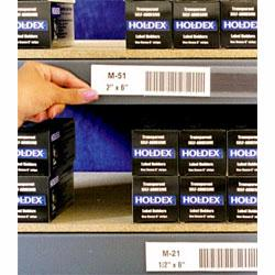 Material Flow carries a large selection of shelving label holders from Aigner Index, in a variety of types and styles.