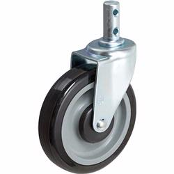Shopping Cart casters from Material Flow.