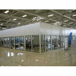 Wall partitions can be used to separate plant space, provide environmental control or create office space.
